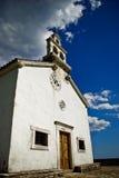 Witte kerk Stock Fotografie