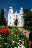 Witte Kerk Stock Afbeelding