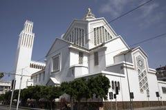 Witte Kerk Royalty-vrije Stock Afbeeldingen