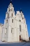 Witte Kerk Royalty-vrije Stock Fotografie