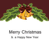 Witte Kerstboom Stock Foto