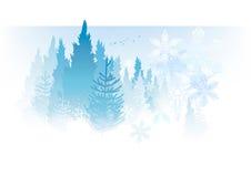 Witte Kerstmis vector illustratie
