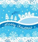 Witte Kerstmis Stock Foto
