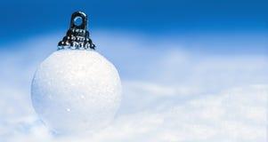 Witte Kerstmis Royalty-vrije Stock Foto's