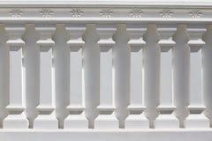 Witte Klassieke Kolom Stock Afbeeldingen