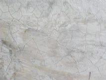 Witte kleur van de cement de oude textuur Stock Foto