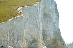 Witte klippen Royalty-vrije Stock Afbeeldingen