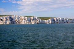 Witte Klippen van Dover Royalty-vrije Stock Afbeeldingen