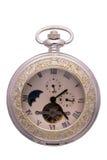 Witte klok Royalty-vrije Stock Afbeeldingen