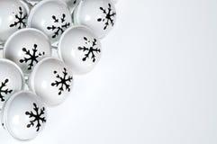 Witte klokken Royalty-vrije Stock Foto's