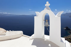 Witte Klokketoren Royalty-vrije Stock Foto
