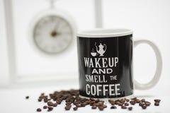 Witte koffiekop Royalty-vrije Stock Foto