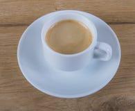 Witte koffiekop Royalty-vrije Stock Afbeelding