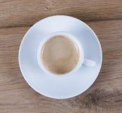 Witte koffiekop Stock Afbeelding