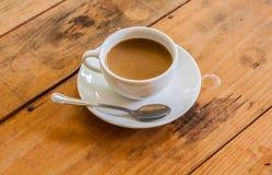 Witte koffiekop Royalty-vrije Stock Afbeeldingen