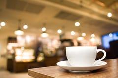 Witte koffiekop Royalty-vrije Stock Foto's