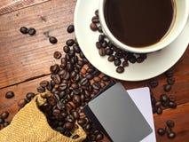 Witte koffiekop Royalty-vrije Stock Fotografie