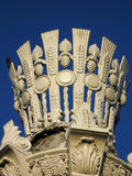 Witte kolom Royalty-vrije Stock Foto
