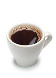 Witte kop van koffie royalty-vrije stock foto's
