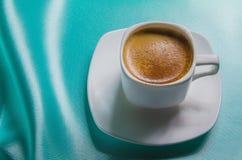 Witte kop van koffie Stock Fotografie