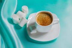 Witte kop van koffie Royalty-vrije Stock Afbeelding