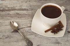 Witte kop van koffie Stock Afbeeldingen