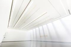 Witte kunstgalerie Stock Fotografie