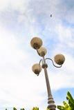 Witte lamp Royalty-vrije Stock Afbeeldingen