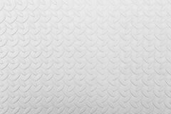 Witte leer grunge textuur als achtergrond Stock Afbeeldingen