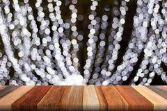 Witte lichte bokehboom Royalty-vrije Stock Foto