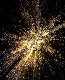 Witte Lichte Uitbarsting royalty-vrije stock afbeeldingen