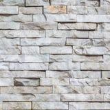 Witte marmeren bakstenen muurtextuur Royalty-vrije Stock Afbeeldingen