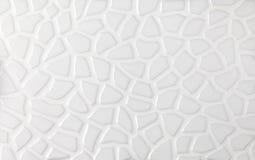 Witte marmeren texturen, de collage van mozaïektegels Royalty-vrije Stock Foto's