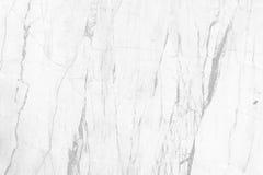 Witte marmeren textuur voor het achtergrond of ontwerpkunstwerk Stock Afbeeldingen