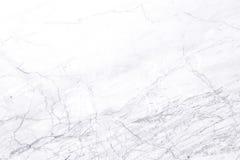 Witte marmeren textuur voor het achtergrond of ontwerpkunstwerk Stock Afbeelding