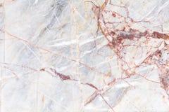Witte marmeren textuursamenvatting backgroun Stock Fotografie