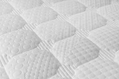 Witte matras royalty-vrije stock afbeeldingen