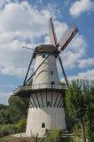 Witte molen Royalty-vrije Stock Foto's