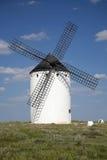 Witte molen Stock Foto's