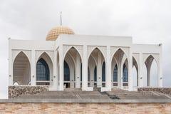 Witte moskee Royalty-vrije Stock Afbeeldingen
