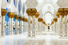 Witte Moskee Stock Fotografie