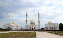 Witte moskee. Bulgaarse Staat Historische en Architecturale Reser Stock Foto's