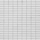 Witte mozaïektegels Royalty-vrije Stock Foto's