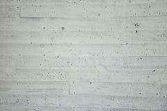 Witte muur van beton met houten textuur Royalty-vrije Stock Afbeeldingen