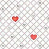 Witte naadloze geometrische textuur. Tegelachtergrond Royalty-vrije Stock Afbeeldingen