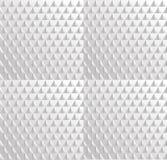 Witte naadloze textuur, stock illustratie