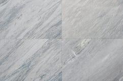 Witte natuurlijke marmeren steenachtergrond Royalty-vrije Stock Afbeeldingen