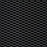 Witte netto op zwarte stock afbeelding