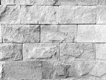 Witte nevelige bakstenen muur voor achtergrond of textuur ผนัภ‡ stock afbeeldingen