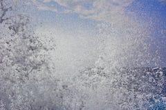 Witte oceaangolf royalty-vrije stock fotografie